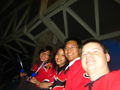 October 04 - Vic - flames season opener