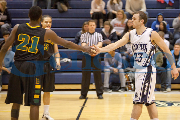 Men's Basketball vs Brockport 1/17/12
