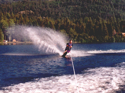 John Water Skiing