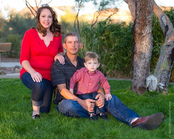 Ryan & Tonya and Family
