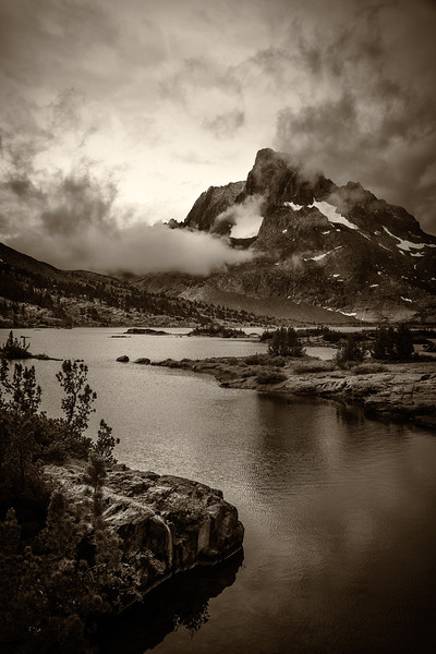 Clearing Storm, 1000 Island Lake, Ansel Adams Wilderness