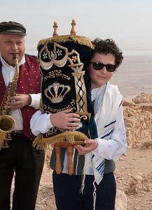 Masada Bar & Bat Mitzvah in the desert