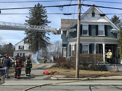 Chelmsford home damaged by fire - April 2, 2019