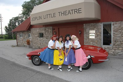 9-11-2007 Taffetta's Publicity Corvette @ Joplin Little Theatre