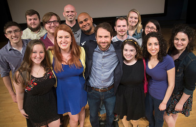Charlie Day Speaks With Theater Students