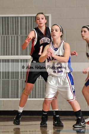 Girls JV Basketball - Jackson NW at Mason - Feb 17