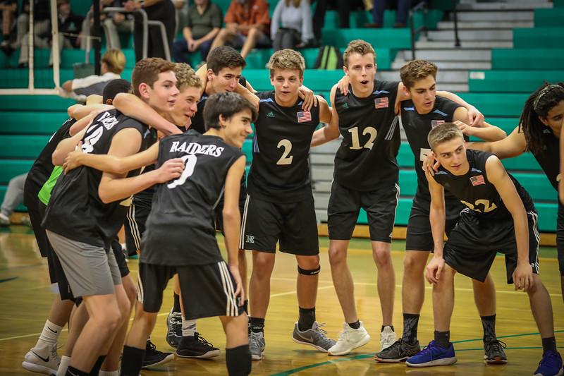 Ransom Everglades Boys Volleyball, 2018