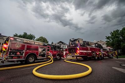 Mountain Brush Street - Residential Fire