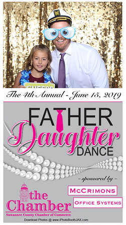 Suwannee Country Chamber Father Daughter Dance 2019