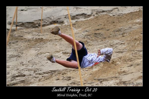2008 Dryland training