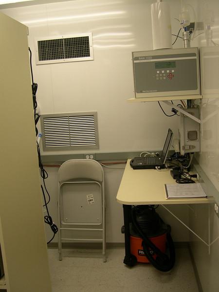 Inside shelter- BAM 1020 and camera system.JPG