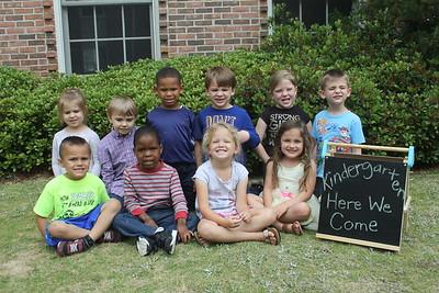 2017-18 K4 Summerville Baptist Mrs. Belinda's Class