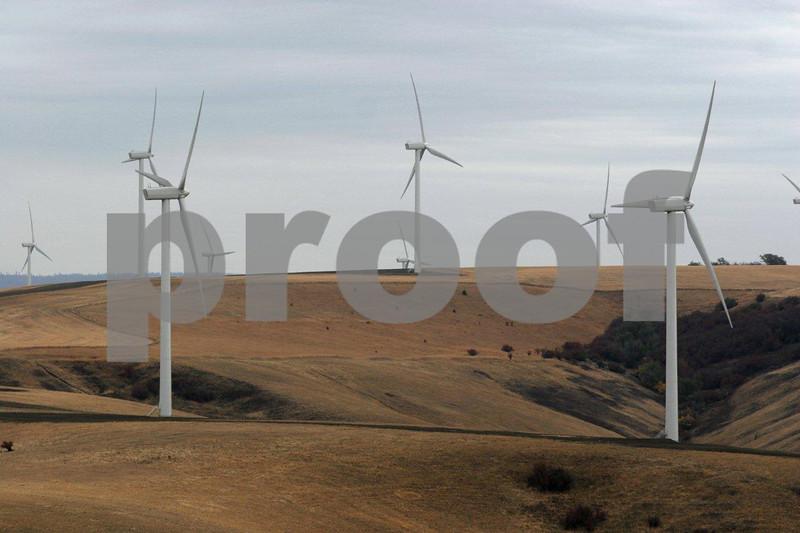 wind power near Dayton, WA