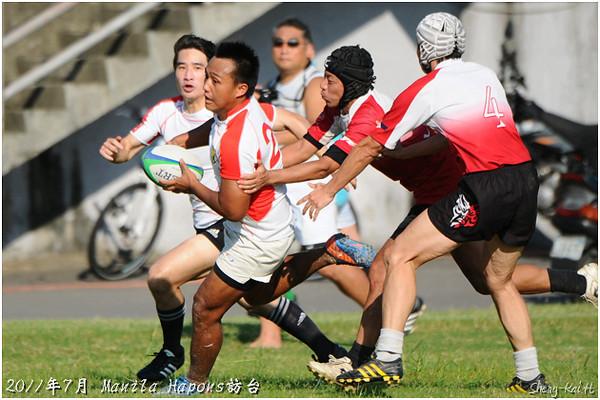 2011 Hapons訪台-Hapons與五木聯隊 VS 巨人(Hapons&FIVEWOODS vs Giants)