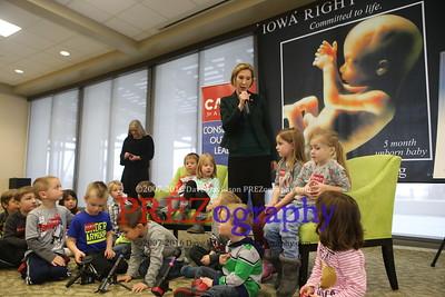 Carly Fiorina Iowa Right to Life 1-20-16
