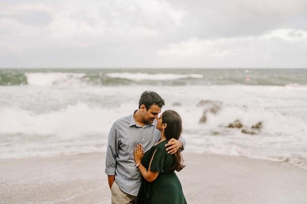 Aashka and Kaushal Engagement
