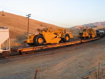 Flatcars with Equipment