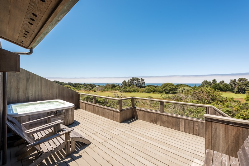 Back Deck with Ocean Views