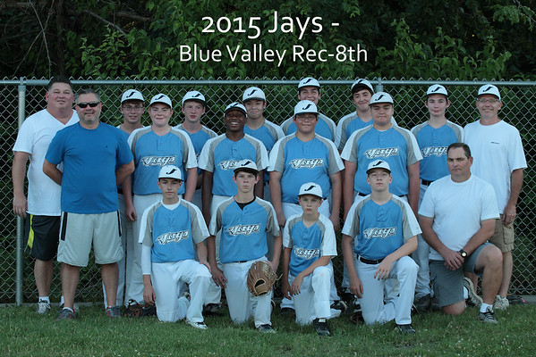 2015 Blue Valley Rec Jays -8th grade