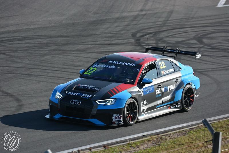 Frederic Vervisch (Bel), Audi RS3 LMS