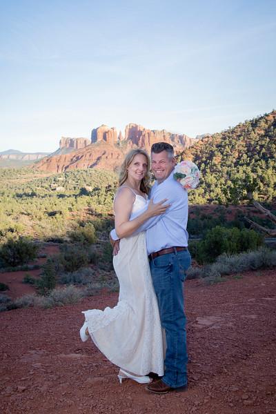 Rebecca & Chad's Sedona Wedding