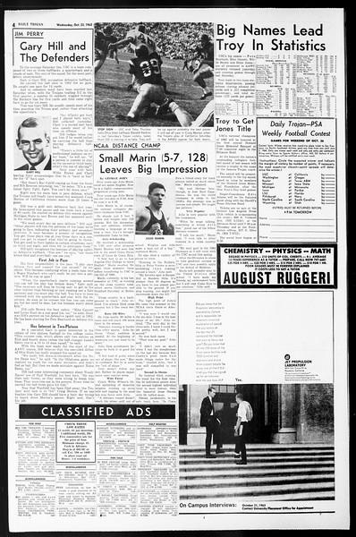 Daily Trojan, Vol. 55, No. 23, October 23, 1963