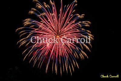 4th Fest 2018 Fireworks Test Fire