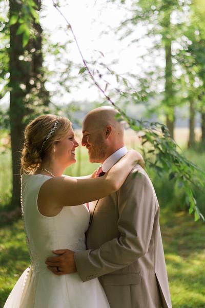 Catie & Trey. Married.