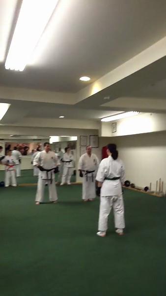 Brown belt test feb 10