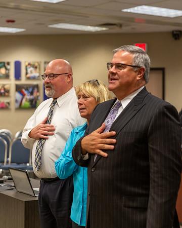 CCISD Board of Trustees - August Meeting