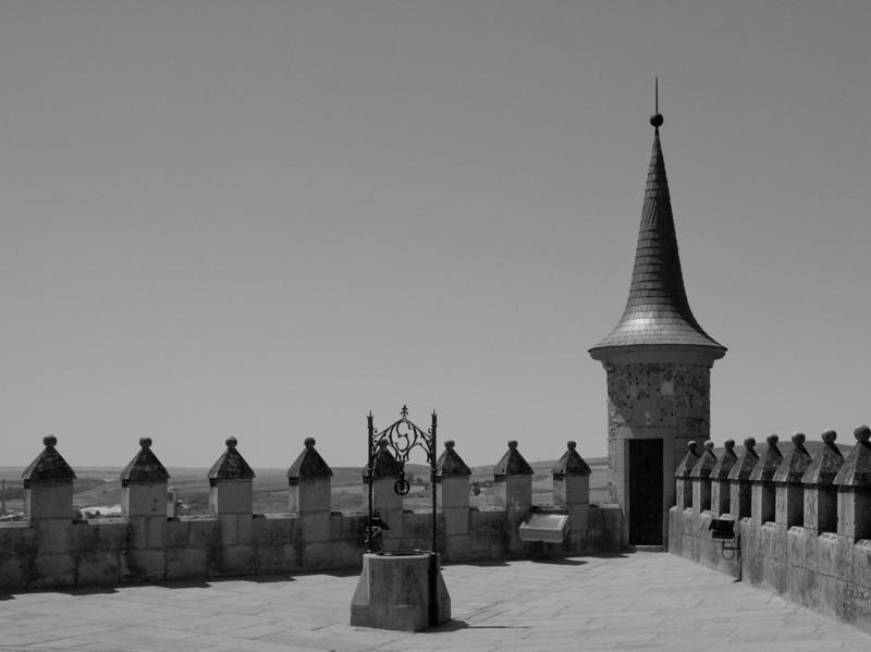 Well in Alcazar, Segovia