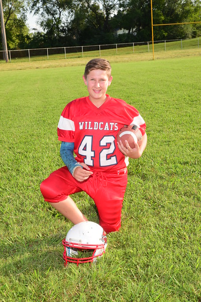 ponca 6th grade football 2018