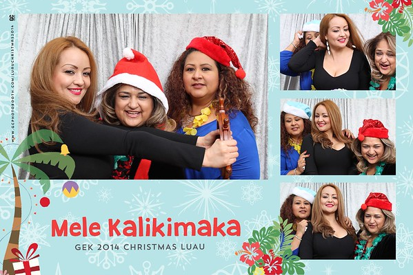 GEK 2014 Christmas Luau