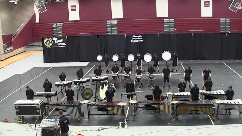 PWSH Drumline at LDI Competition