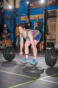 "CrossFit Open Competition ""18.4"" on 3/17/2018 held at CrossFit TT in South Burlington Vermont"