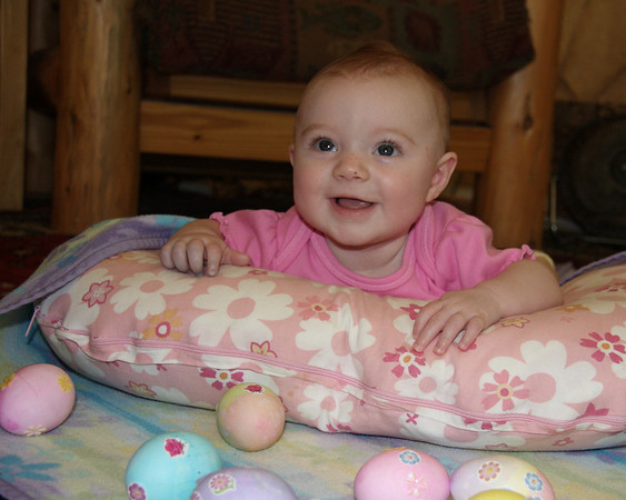 Kasey Marie's First Easter