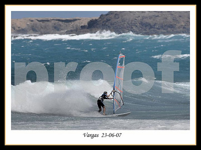 Windsurf  -  Vargas 23 Junio 2007
