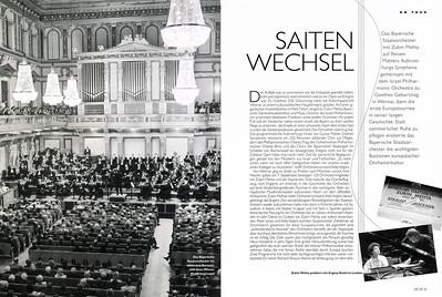 1999 - Europa Reise mit dem Bayerischem Staatsorchester 1999