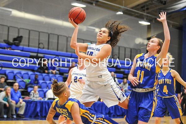 Hamilton College Women's Basketball v SUNY Polytechnic 11-22-16