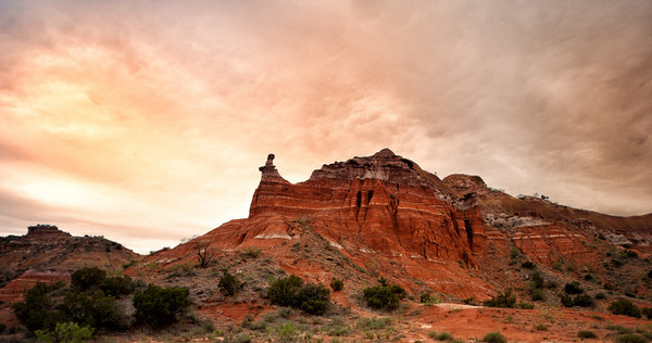 PALO DURO CANYON  /  ANNUALR ECLIPSE  -  MAY 2012