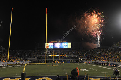 28594 Fireworks Halftime WVU Kansas State October 2012