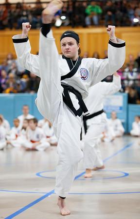 2019 Valentin Karate Belt Testing