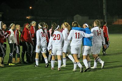 FHS Girls Soccer Regional Semifinal v. Hathaway Brown