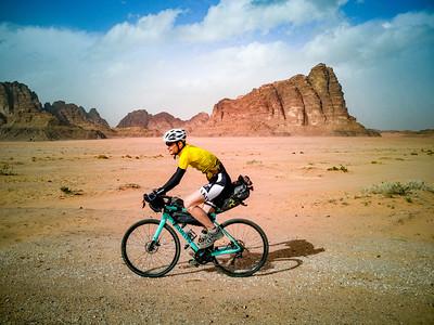 Jordan Bike tour Wadi Rum Petra Day 3