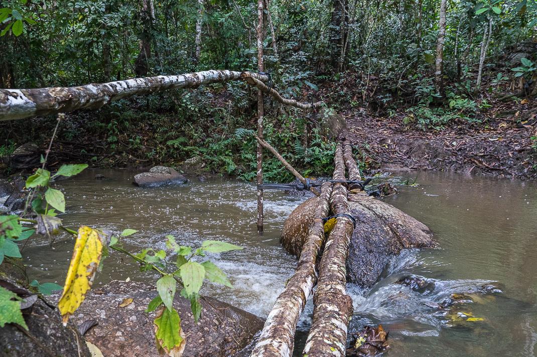 Mae Chaem River Crossing