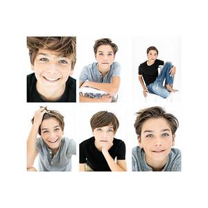Youth Model & Young Actor Headshots & full body Portfolio Photography-Oliver