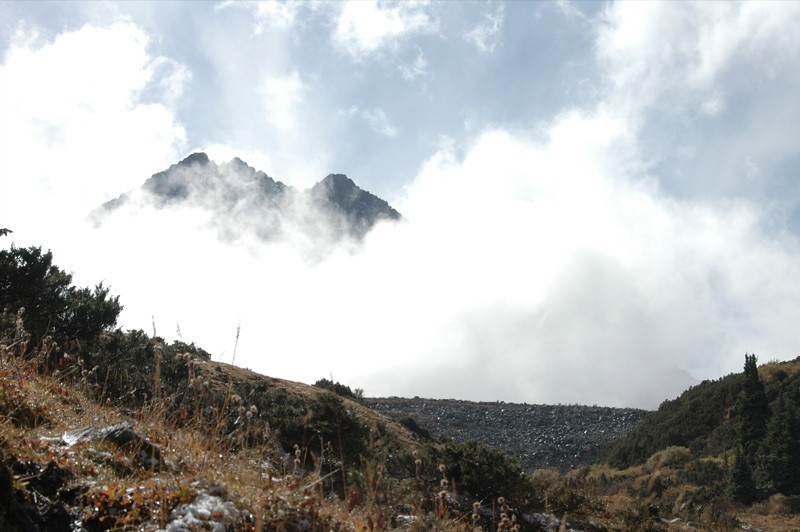 Trekking in Clouds - Ala Kul Lake, Kyrgyzstan