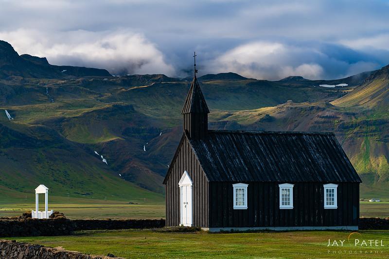 Black Church, Bodir, Iceland
