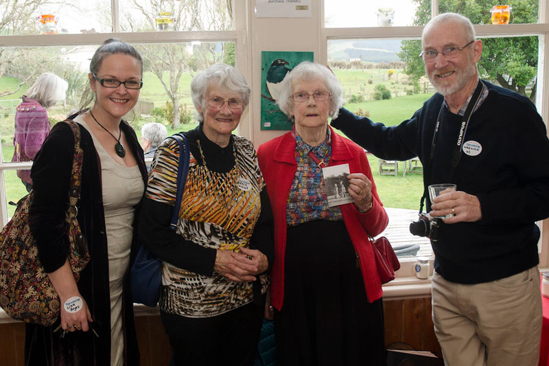 Da Flittin Book Launch - Thursday 14 Sept 2017 at Niagra Falls Cafe, Waikawa, Catlins. 29 family members attended.