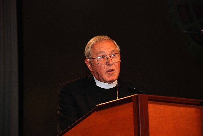 The Most Rev. Richard Sklba, auxiliary of the Milwaukee Archdiocese.